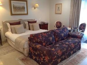 Bedroom at La Villa Eugene