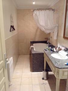 Bathroom at La Villa Eugene