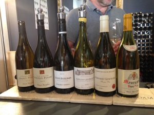 The White Burgundy tasting