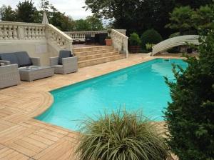 Swimming Pool at La Villa Eugene