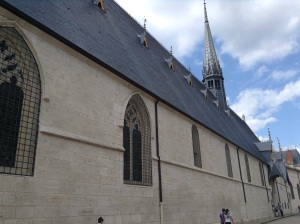 Hospices de Beaune or Hotel-Dieu de Beaune. A former charitable which began life as hospital for the poor of Beaune